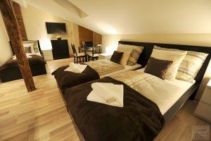 Three-bed apartments